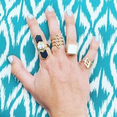 We're festival ready with our rings!