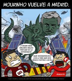 Mourinho vuelve a Madrid. (VIÑETA) pic.twitter.com/8YhELfrhp1