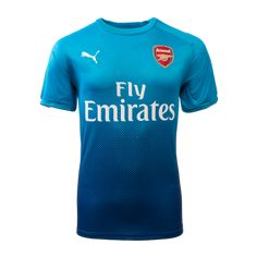 822cc40164a Cheap Arsenal Soccer Jerseys 17 18 Arsenal Away Blue Soccer Jersey Football  Shirts