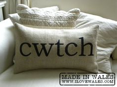 Cwtch (cwts) - more than a hug, it implies a small safe, protected place.  A warm, wonderful word.