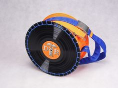 Docs & Bags® - orange - the unique vinyl handbag - Special as You!