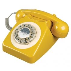 Telefono 746 giallo mostarda Shoppable