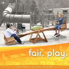 Seesaw Concept for Child Wheelchair Users