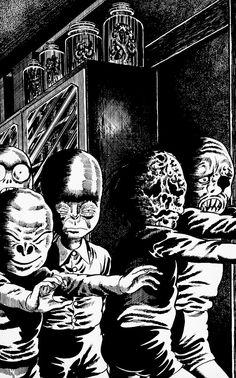 kazuo umezu horror manga