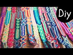 DIY How to make an Aztec style friendship bracelet Step by Step tutorial | boho | Creative Twins - YouTube