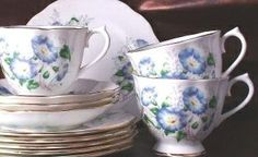 Product Description:Royal Albert Friendship Morning Glory Cup and Saucer