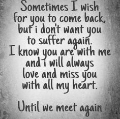 Mom I Miss You, Missing You Quotes For Him, Miss My Husband Quotes, Son Quotes, Life Quotes, Best Family Quotes, Dad In Heaven, Grieving Quotes, Love