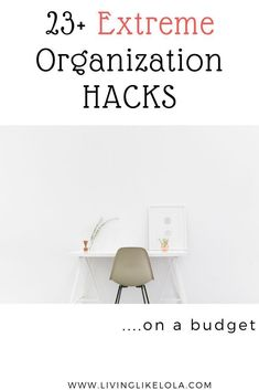 Looking to organize your home but don't know where to start?! This post covers the best organization hacks for any apartment, home or small space living! Time to declutter and get organized. #HomeDecorNearMe College Living Rooms, Living Room Themes, Apartment Decorating On A Budget, Diy Home Decor On A Budget, Small Space Living, Small Spaces, Small Apartments, Dorm Essentials, Organizing Your Home