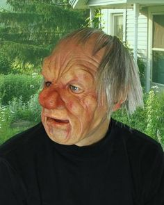 Grumpy SKU: MB1001 This neighborhood old man is always having a bad day. Great movement in a light weight super soft latex mask and integral synthetic wig. Hand poured, painted and assembled in the US. Copyright BYBY. Zagone Masks & Costumes | Zagone Studios