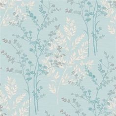 Buy the Teal Fern Motif Wallpaper by Arthouse at The Range