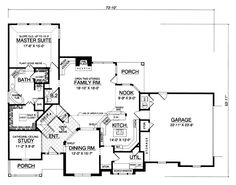 Browse over house plans from top designers. Choose from various styles and easily modify your floor plan. Find your perfect home plan today! Family House Plans, Country House Plans, Home And Family, Home Design Plans, Plan Design, Custom Home Designs, Custom Homes, Built In Media Center, I Love House