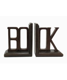 Take a look at this 'Book' Bookend Set by Three Hands Corporation on #zulily today! $50 !!