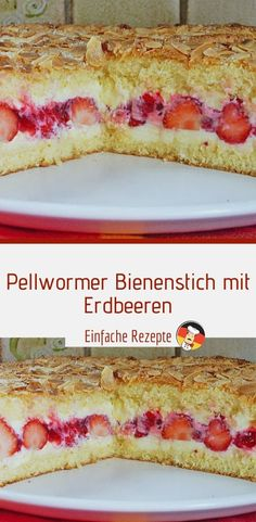 Pellwormer bee sting with strawberries - Kuchen - Ensaladas Sugar Cookie Recipe Easy, Easy Peanut Butter Cookies, Cake Mix Cookie Recipes, Easy Chocolate Chip Cookies, Chocolate Cookie Recipes, Peanut Butter Cookie Recipe, Cake Recipes, Yummy Cakes, Cupcakes