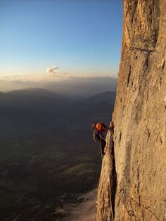 Climbing the Grand Muro by =JamesRushforth on deviantART