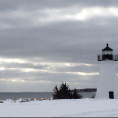 Ned's point lighthouse. Mattapoisett, MA