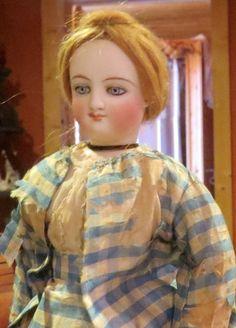 "13"" C1866 Smiling Bru, Poupee French Fashion Lady Bisque Doll FACTORY ORIGINAL"