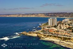The beautiful coastal community of La Jolla is a resort area located in San Diego County, California along the Pacific Coast.