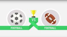 What do you think? Soccer or American football