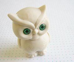 Adorable Owl Figurine