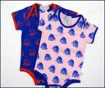 Infant - Onesie All Over Logo Print #BoiseState #Idaho #Baby #Onesie #BroncoNation #BlueandOrange
