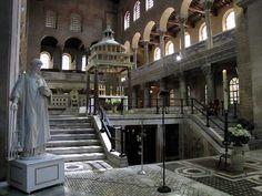 Basilica Papale di San Lorenzo fuori le Mura (Papal Basilica of Saint Lawrence outside the Walls ) Via del Verano Rome