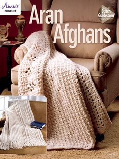 Comfort never looked as good as in the textures of these stylish Aran afghans…