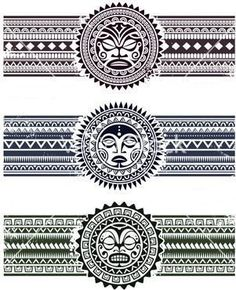 maori tattoos in black and white 2017 designs