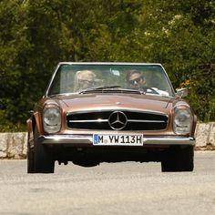 Mercedes-Benz 250 SL Pagode in der Provence | Nostalgic Oldtimerreisen