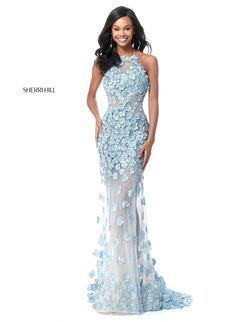 Sherri Hill 52414 taffeta ball gown with v-neck bodice and beaded waist band. WE CAN ORDER ANY JOVANI, Terani Couture, MNM Couture, Sherri Hill. I hope you enjoy our selection of evening gowns for your special occasions. Sherri Hill Prom Dresses, Prom Dresses 2018, Designer Prom Dresses, Formal Dresses, Long Dresses, Flower Dresses, Ball Dresses, Ball Gowns, Trends 2018