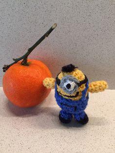 M Minions, Orange, Fruit, Amigurumi, The Minions, The Fruit