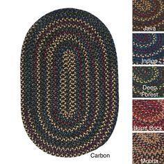 Horizon Multicolored Reversible Braided Rug (5' x 7')