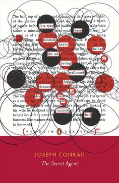 the secret agent, joseph conrad; cover design by coralie bickford-smith