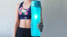 Making Water A Habit With The Hidrate Spark Smart Water BottleBy Fit Girls Diary / March 14, 2017INTRODUCING THE HIDRATE SPARK 2.0SMART WATER BOTTLEThe Hidrate Spark 2.0 is a smart water bottle that has many amazing functions...