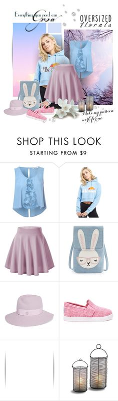 """""""пастельные оттенки"""" by natalego ❤ liked on Polyvore featuring Glamorous, ellesse, Maison Michel and TOMS"""