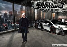 Fast and Furious 7 | Jason Statham in Fast and Furious 7 by ~tilltheend on deviantART