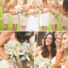 Favorite champaign colored dresses