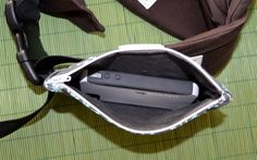 Zipper Waist Pouch for soft structured baby carrier by ClothClouds, $25.00