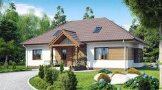 EKO 09 | Projekty rodinných domov | Stavby domov Tree Bedroom, Design Case, Home Fashion, Gazebo, Outdoor Structures, House Design, Cabin, House Styles, Simple