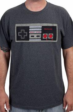 Nintendo Controller Shirt: Video Games Nintendo T-shirt