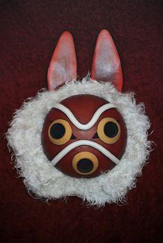 San's mask Princess Mononoke cosplay props от CosplayManufactory