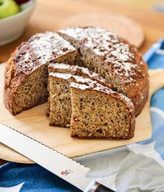 Swedish Recipes, Fika, Bread Baking, Baked Goods, Bread Recipes, Banana Bread, Food And Drink, Apple, Eat