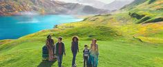 Reese Witherspoon, Mindy Kaling, Storm Reid, Levi Miller, and Deric McCabe in A Wrinkle in Time (2018)