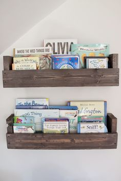 the picket fence projects: Baby's book nook