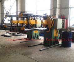 Transformer corrugated oil tank machine