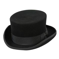 Conner Handmade Hats Low Rise Top Hat is mid height made for those wearers  afraid of heights! Classy grosgrain bow band and inner organic cotton band c9afb02ab9ad
