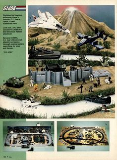 GI Joe Action Figures from a 1984 catalog #vintage #1980s #toys