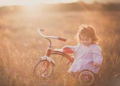Sweet Babe & her Trike