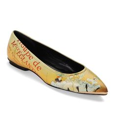 Toulouse-Lautrec's french poster art print shoe || Shoes and accessories inspired by classic art!