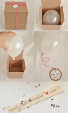 Cute, easy and cheap sorprise.