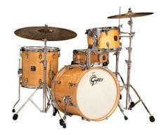 Gretsch Catalina Club Jazz 4 Piece Drum Set Gloss Natural w/OSP Hardware by Gretsch. $679.00. Gretsch Catalina Club Jazz Drum Set with Hardware Pack - Gloss NaturalPlease note: An OSP Hardware pack is included FREE but the cymbals and throne are not included. This kit is slightly used - it was a store demo model.The Gretsch Catalina Jazz set is designed for the player who is looking for a versatile 4-piece set with quality features. Featuring Mahogany shells and 30-degr...